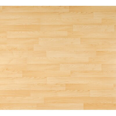 Columbia Flooring Clic Xtra 8mm 2-Strip Maple Laminate in Aspenwal Maple
