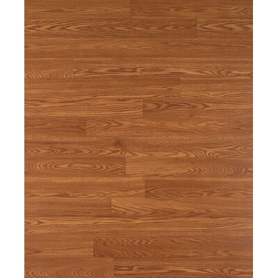 Columbia Clic 8mm 2-Strip Oak Laminate in Copper Pot Oak