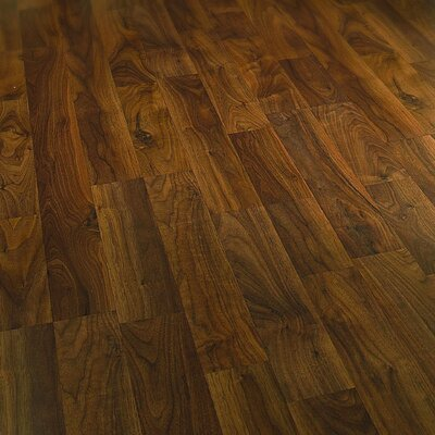 Columbia clic 8mm walnut laminate in heritage smoke wayfair for Columbia laminate