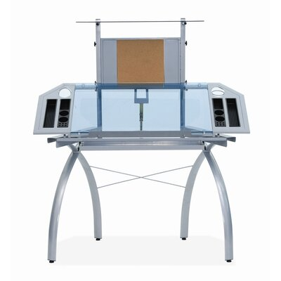 Futura Glass Tower Drafting Table