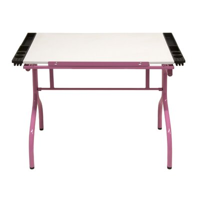 Studio Designs Folding Craft Station with Metal Support Bars