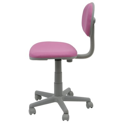 Studio Designs Low-Back/Mid-Back Fabric Calico Deluxe Task Chair