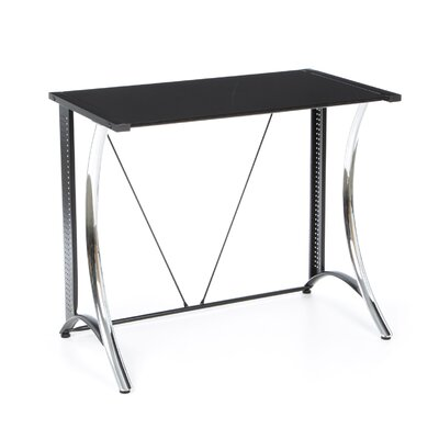 Studio Designs Calico Monterey Writing Desk with Black Glass