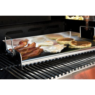Charcoal Companion Stainless Pro Grill Griddle