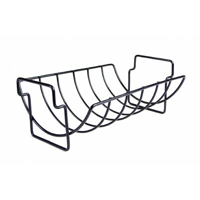 Charcoal Companion Non-Stick Reversible Roasting / Rib Rack