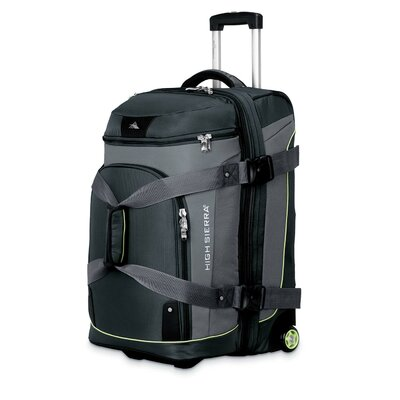 "High Sierra AT3 Sierra-Lite 26"" Drop-Bottom 2-Wheeled Travel Duffel"