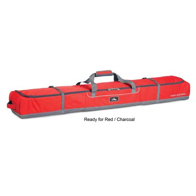 Ski & Snowboard Double Ski Bag - 185cm
