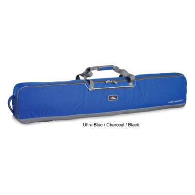 Ski & Snowboard Wheeled Double Coffin-Style Ski/Snowboard Bag - 180cm