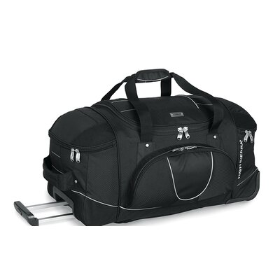 "High Sierra A.T Gear Ultimate Access 26"" 2-Wheeled Travel Duffel with Backpack Straps"