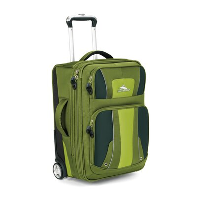 "High Sierra Evolution 22"" Carry On Upright Suitcase"