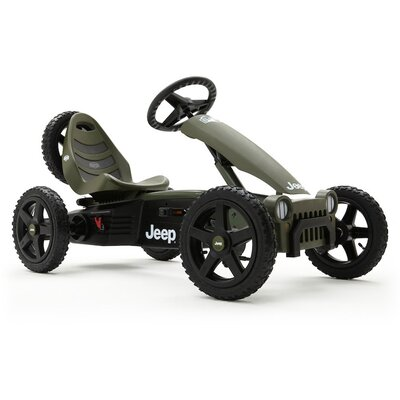 BERG Toys Jeep Adventure Pedal Kart