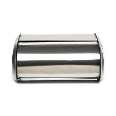 Polder Deluxe Stainless Steel Bread Box