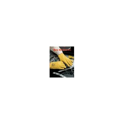 Best Manufacturing Co Yellow Bex™ Sof Paw Vinyl-Impregnated PVC Slip On, Stretch Fabric General Purpose Glove