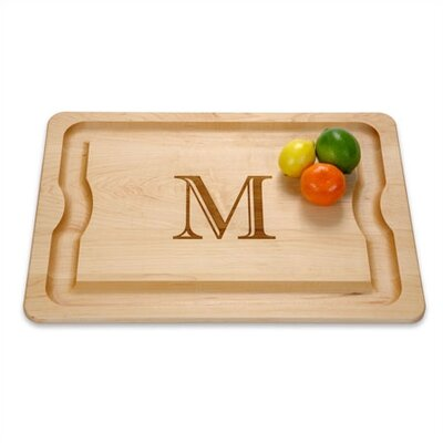"J.K. Adams BBQ Cutting Board Monogrammed 16"" x 12"""