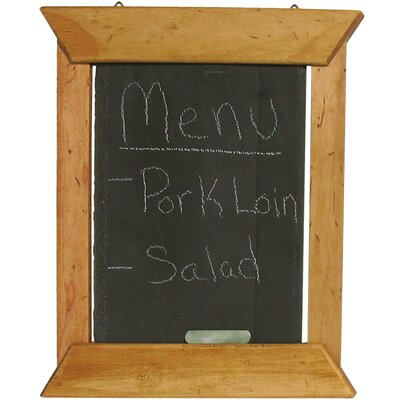 "J.K. Adams Hanging Slate Menu 1' 2"" x 1' 0.5"" Chalkboard"
