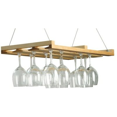 J.K. Adams Hanging Wine Glass Rack