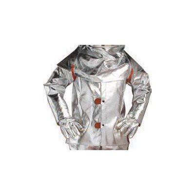 "Chicago Protective Apparel Inc Aluminized Rayon 30"" Coat"