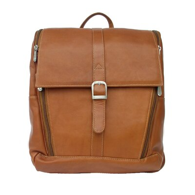Piel Leather Slim Computer Backpack
