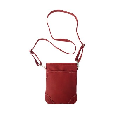 Piel Leather Medium Vertical Shoulder Bag