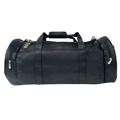 "Piel Leather Adventurer 23"" Leather Gym Duffel"