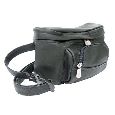 Piel Leather Adventurer Carry-All Waist Bag