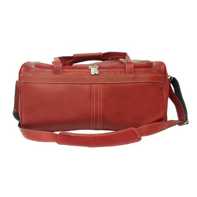 "Piel Leather Leather 18"" Travel Duffel"