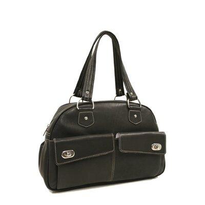Piel Leather Ladies Bowling Satchel