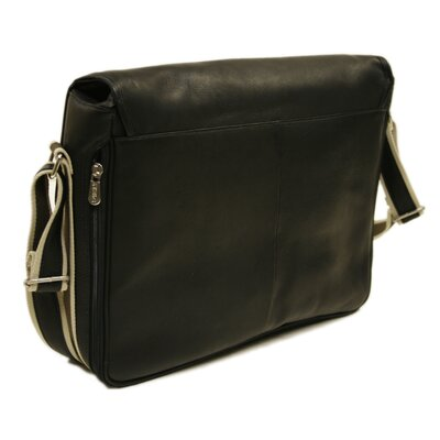 Piel Leather Entrepreneur Messenger Bag