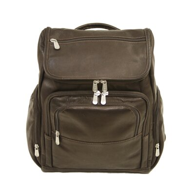 Entrepreneur Multi-Pocket Laptop Backpack in Chocolate