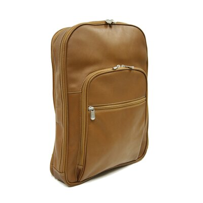 Entrepreneur Multi-Compartment Laptop Backpack in Saddle