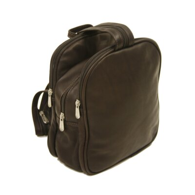 Piel Leather Fashion Avenue Three Section Sling Backpack
