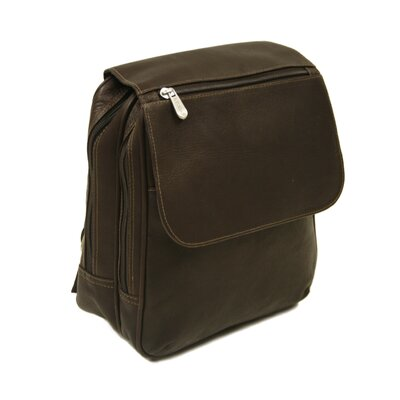 Entrepreneur Flap-Over Mini Backpack in Chocolate