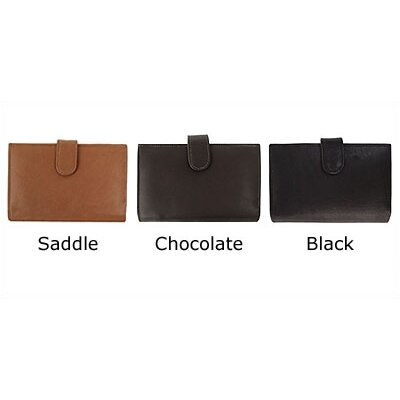 Piel Leather Ladies Wallet