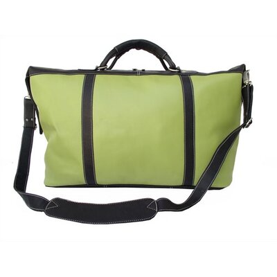 Piel Leather Apple Green Large Satchel Coarding Tote