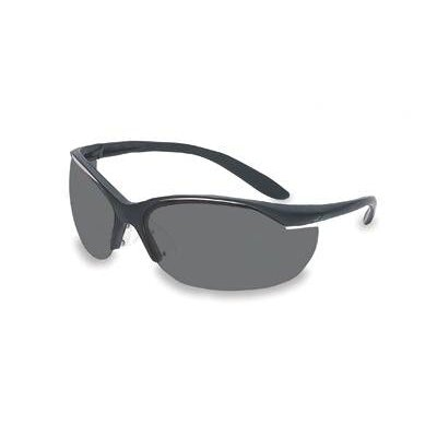 Dalloz Safety Vapor® II Safety Glasses With Black Frame And TSR® Gray Fog-Ban® Lens (10 Per Box)