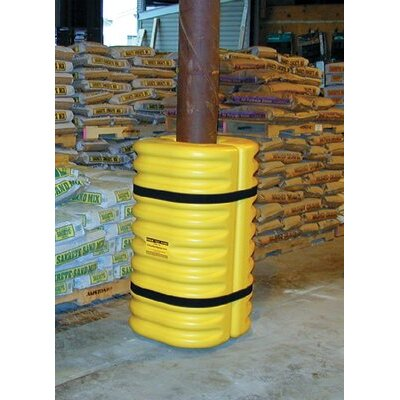 "Eagle Manufacturing Company Eagle Mfg - Column Protectors 6"" Column Protector  Yellow: 258-1706 - 6"" column protector  yellow"
