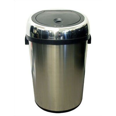 itouchless 23 Gallon Stainless Steel Touchless Trashcan