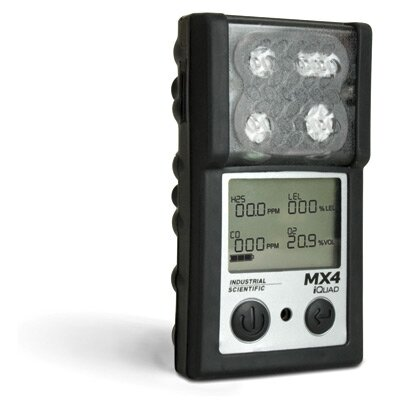 Industrial Scientific iQuad™ Portable Gas Detector For LEL And Methane With Litium-Ion Battery