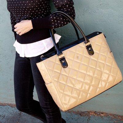JP Lizzy Classic Patent Diaper Bag
