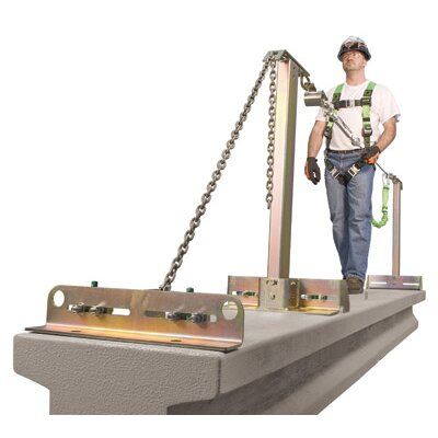 Miller Fall Protection SkyGrip™ 4 Person Temporary Horizontal Lifeline For Concrete Applications