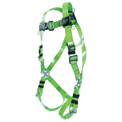 Miller Fall Protection Vinyl Plastic Revolution™ Harness With Tongue Buckle Legs