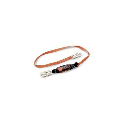 Miller Fall Protection Titan™ T-Bak™ Single Leg Tie-Back Lanyard With Shock Absorber