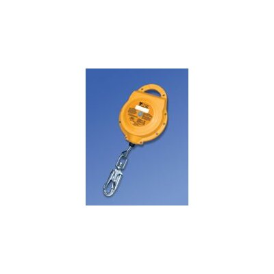 "Miller Fall Protection Titan™ Self-Retracting Lifeline With Glass-Filled Polypropylene Housing And 3/16"" Galvanized Wire"