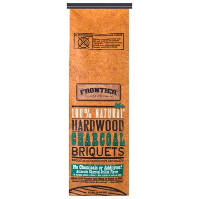 National Packaging Services 9 lbs 100% Natural Hardwood Charcoal Briquets