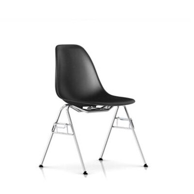 Herman Miller ® Eames Molded Fiberglass Side Chair with Stacking/Ganging Base