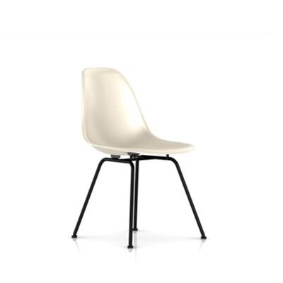 Eames Molded Fiberglass Side Chair with 4-Leg Base