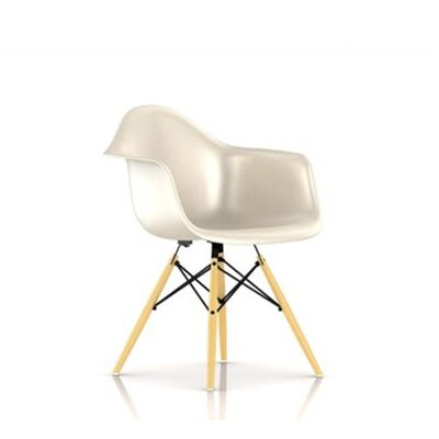 Herman Miller ® Eames Molded Fiberglass Armchair with Dowel Base