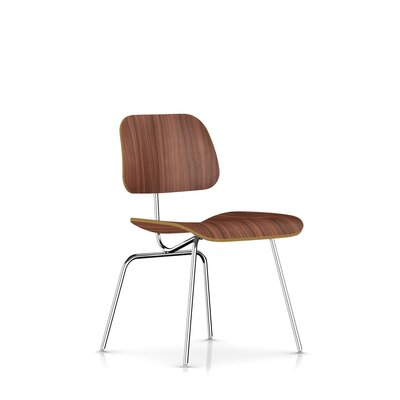 Eames DCM - Molded Plywood Dining Chair with Metal Legs