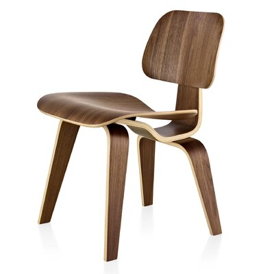 Eames DCW - Molded Plywood Dining Chair with Wood Legs