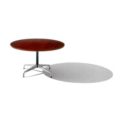 Herman Miller ® Eames ® Round Conference Table with Soft Pad Group Side Chairs Set ...